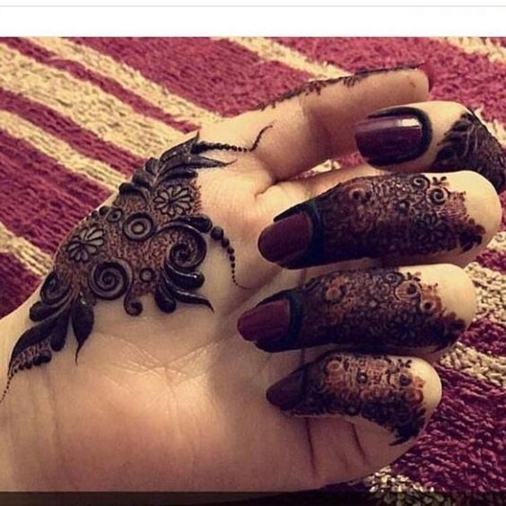 50 Latest Simple And Easy Mehndi Designs 2018 2019