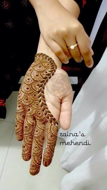 50+ Latest Simple and Easy Mehndi Designs 2018 \u0026 2019