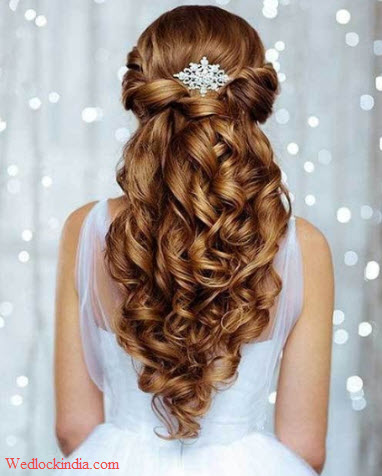christian bridal hairstyle