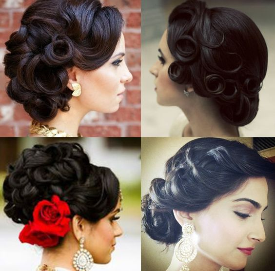 Wedding Hairstyle New: Top 30+ Latest Indian Bridal Wedding Hairstyles Images